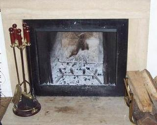 Fireplace with out cover