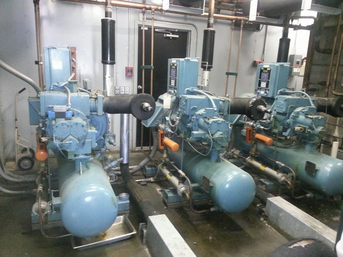 100 ton DX Compressors
