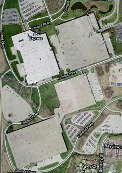 Large Warehouse Campus Aerial
